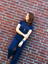 Load image into Gallery viewer, Navy Jumpsuit