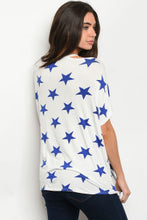 Load image into Gallery viewer, Blue Starry Tee