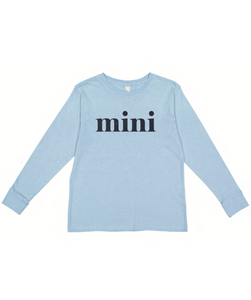 Mini Long Sleeve - Blue