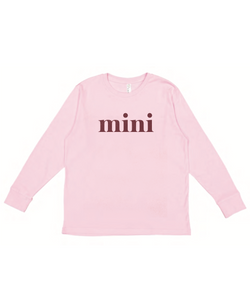Mini Long Sleeve - Pink