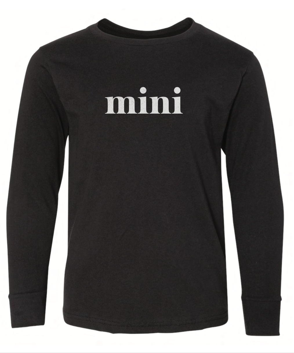 Mini Sweatshirt - Black