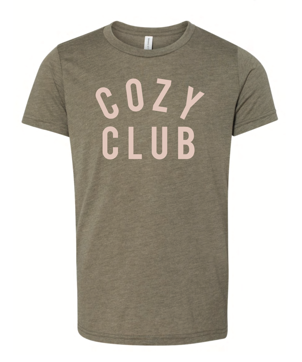 Cozy Club Mini Short Sleeve - Olive