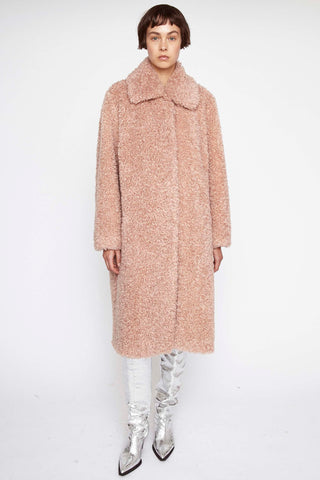 610619160  Maxine curly faux fur coat
