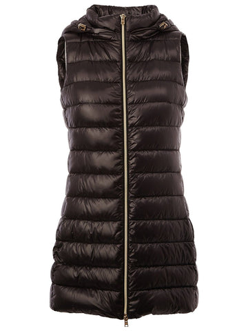 PI0329D9300 Long vest with hood