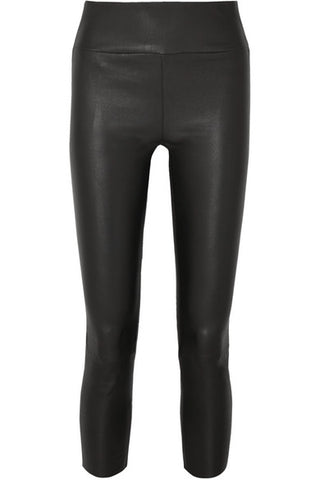 CAP002L capri stretch leather legging