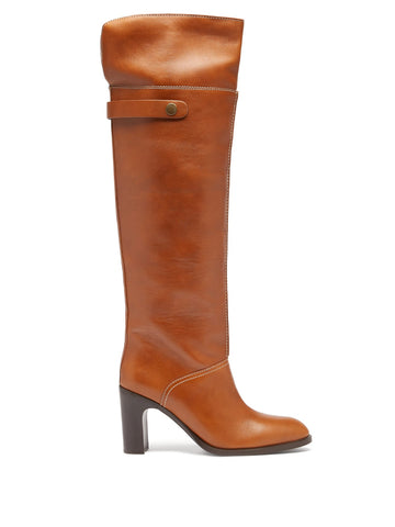 SB35005A12002 Annia leather over the knee boot