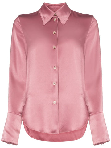 PF1901027 SATIN RETRO SHIRT