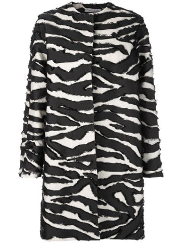 19PN803ZFC ZEBRA LONG COAT
