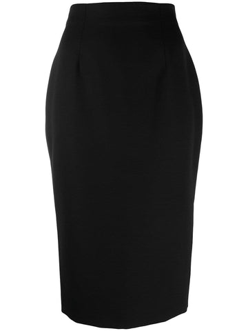 584714QJAAC High waist pencil skirt