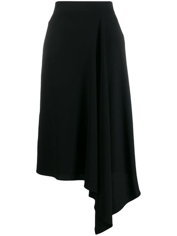 583912QJAAG DRAPE PENCIL SKIRT