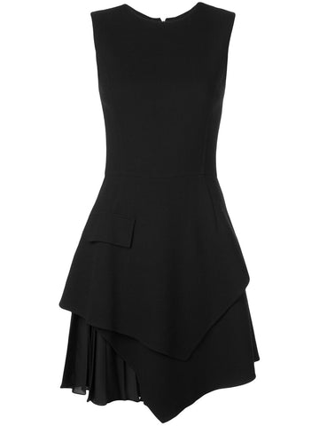 20RN248STW SLEEVELESS SIDE PLEAT DRESS