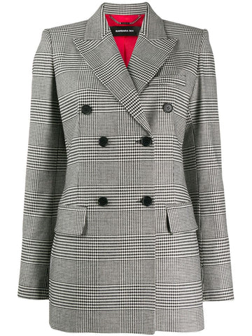 U1221UEM HOUNDSTOOTH JACKET
