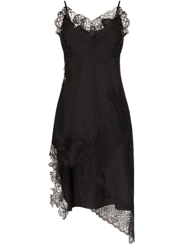 RST20DR0142SHT LACE NECKLINE SLIP DRESS