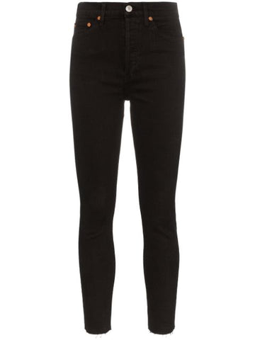 1893WHRAC High rise ankle jean