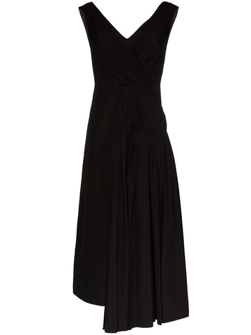 ABMA0458UYTCW6400N99 Pleated panel maxi dress