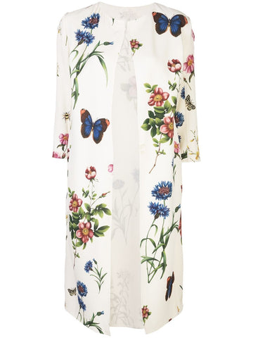 20SN801BGS Floral coat