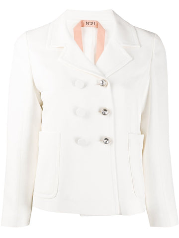 20EN2MOLO215336  crystal button jacket