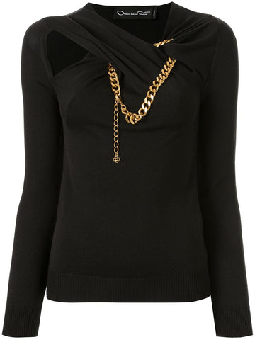 20RN142KNK sweater with chain