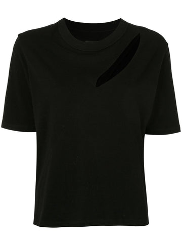 WH93467099 maddox tshirt with slit