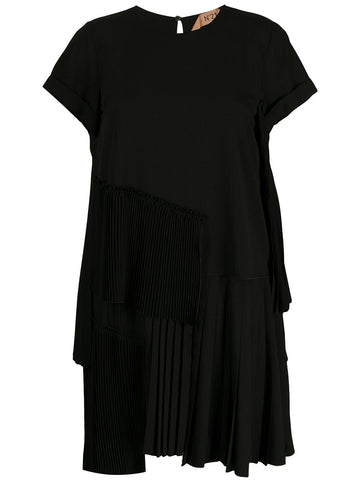 20EN2MOH0615172  MULTI TIER PLEATED DRESS