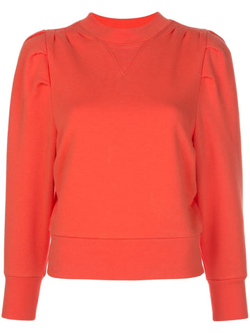 LWAC0296  shirred sweatshirt