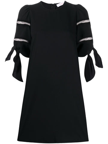 CHS20URO13012 Tie sleeve dress
