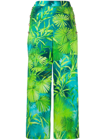 A85702A234700  jungle print cropped pants