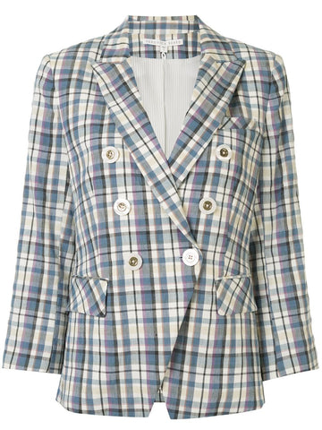 2003PL0391478 empire dickey plaid db blazer