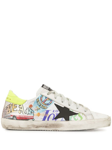 GWF00101F00028280284 Superstar graphic print sneaker