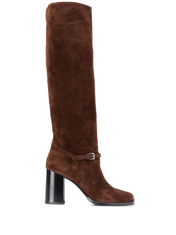 5W224DF085H Knee high suede boot