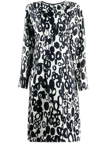 ABMAT93A00TV765 Abstract drop print dress
