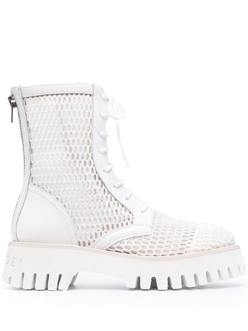 1R253S0401C1247 Mesh panelled ankle boot