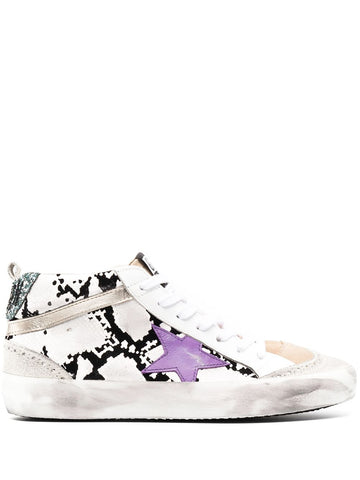 GWF00122F00027180273 Panelled mid star sneaker