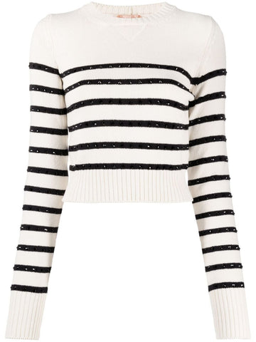 21EN2MA01675901213 Horizonal stripe sweater