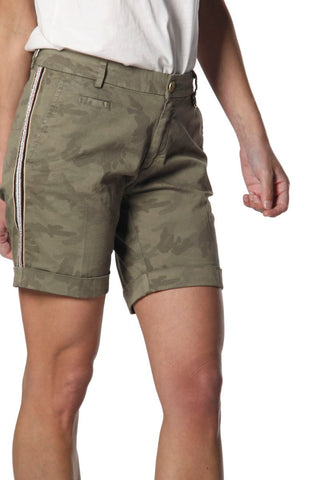 4BE1A115N/CE43S Jacqueline curvy camouflage short
