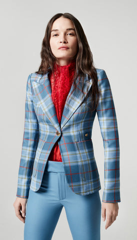 FA2025A Patch pocket duchess blazer