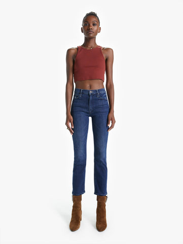 10146104 The dazzler hover skinny straight leg with hi rise jean