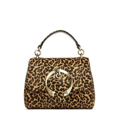Madeline leopard top handle/s yth