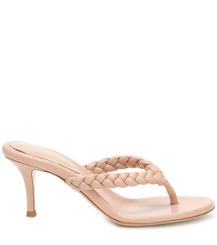 G19060-70 BRAIDED THONG SANDAL