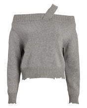 WH9697000SILS BECKETT SILVER STUD SWEATER