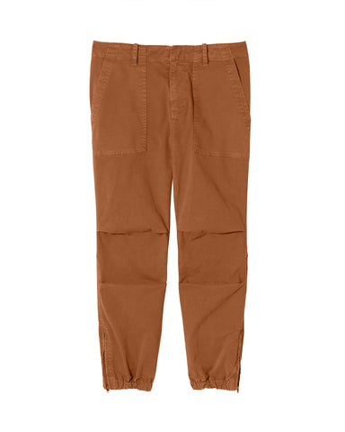 00099W12 Cropped french military pant