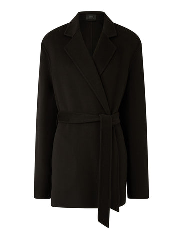 JF005005 Cenda double face cashmere wrap jacket