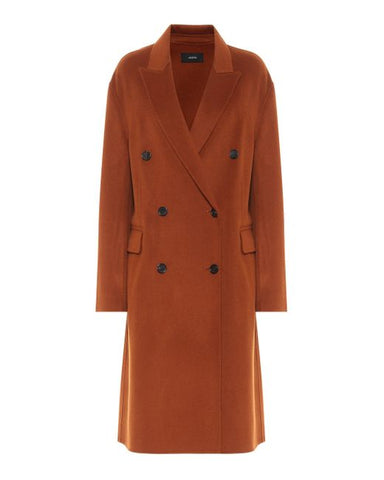 JF004880 Carles double breasted cashmere coat