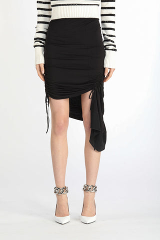21EN2M0C1114853 Short asymmetrical mini skirt