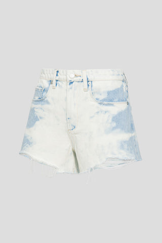 43R-8267 Play by Play Acid Wash Short