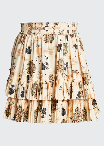 SP210305 Leela print cotton skirt