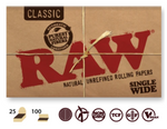 RAW Classic Single Size Double Fold 100/pack