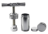 T Handle Pollen Press Hash Compress Aluminum Silver 3 Sizes