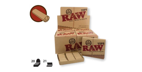 RAW Tips Pre-Rolled 21/pack