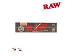 RAW Classic Black King Size Slim 32/pack